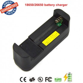 1PC 26650 3.7V Li-ion Rechargeable Battery 26650 Flashlight batteries Charger 18650 batttery charger