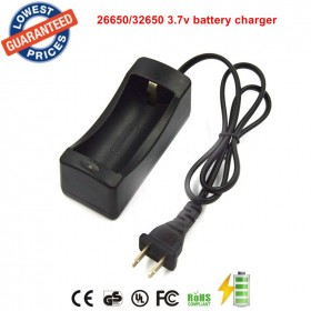 battery charger 32650 charger 3.7v Rechargeable battery Charger 26650 charger (only charger)