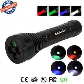ALONEFIRE RX4 CREE XPE LED Red Green Blue White multi-function Signal lamp flashlights torches