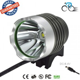 AloneFire BK-01 bicycle headlight 1800 Lumen CREE XM-L T6 Bike Bicycle Light LED Light Flashlight 8.4V 6800mah+Charger