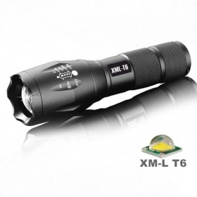 led flashlight-ALONEFIRE G700/E17 CREE XM-L T6 2000Lumens cree led Torch Zoomable cree LED Flashlight Torch light For 3 x AAA or 1x18650 Batteries