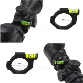 M520 / M570 1PC scope bases mounts Riflescope Bubble Level Spirit Level For 30mm or 25.4mm Tube Rifle Scope Ring