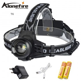AloneFire HP99 2000LM CREE T6 headlamp XML-T6 headlight 3mode torch head lamp light+battery+charger for fishing lights