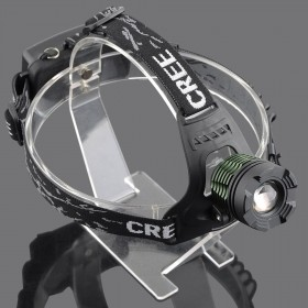 AloneFire k12 CREE XML T6 LED Headlamp Headlight xml-t6 zoom headlight fishing light outdoor lighting