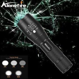 AloneFire E17 zoom led flashlight super bright CREE XM-L T6 3800Lm waterproof bicycle light torch zoomable led flashlight torch