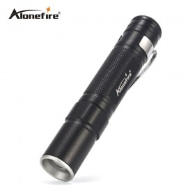 AloneFire MN22 Portable Mini Penlight CREE 2000LM LED Flashlight Torch Pocket Light Waterproof Lantern AAA Battery Powerful Led