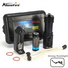 AloneFire DV32 Diving Flashlight CREE XM-L2 Underwater Waterproof Tactical Flashlight support 1x18650/26650 batteries