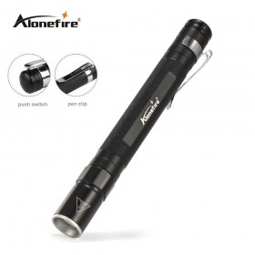 AloneFire MN23 Portable Mini Penlight CREE Q5 2000LM LED Flashlight Torch Pocket Light Waterproof Mini Torch Lamp use 2*AAA Battery