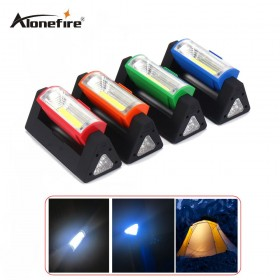 AloneFire C016 Super Bright COB LED Magnetic Work Light Flashlight pocket lamp linternas with Folding Hanging Hook for Outdoors Lighting