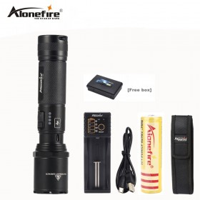 Amazing AloneFire TK700 CREE XM L2 Led Flashlight USB Rechargeable Led Torch Tactical  Lamp Lantern Self