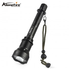 AloneFire X280 Ultra Bright LED Flashlight Detachable Rechargeable Length Adjustable Flashlight for Camping, Hunting, Fishing & Hiking