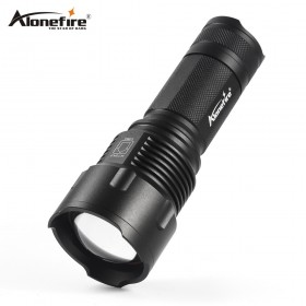 AloneFire X980 LED Flashlight 26650 Zoom Torch Waterproof T6 2000LM 3 Mode Light For 3x AA or 3.7v 26650 Battery