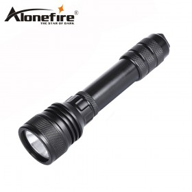 AloneFire DV48 Powerful CREE XHP 50 diving flashlight diver torch outdoor Underwater flashlight dive torch