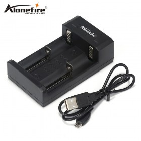 AloneFire MC102 USB 18650 Battery Charger for 26650 18650 14500 16340 Li-ion Rechargeable Batteries Portable emergency Battery Charging
