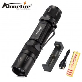 AloneFire X560 led mini flashlight CREE V6 LED 18650 flashlight Super Bright torch