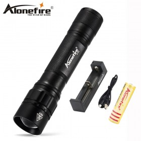 AloneFire X720 Outdoor Camping Tactical Flash Light Torch Spotlight Q5 led zoom flash lights Lantern