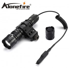 AloneFire TK104 CREE L2 LED Tactical Torch Outdoor Hunting Camping Lantern by 18650 Battery