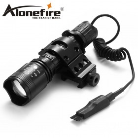 AloneFire Tactical TK400 L2 LED Flashlight Waterproof Outdoor Torch Light Cycling Bike Lights Portable Lantern for Camping Hunting