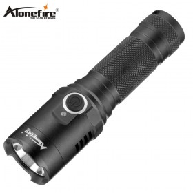 AloneFire X002 Aluminum ultra bright led flashlight xml t6 Usb Tactical torch 18650 Rechargeable battery
