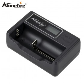 AloneFire SC-01 battery charger LCD Screen Intelligent li-ion 18650 14500 16340 26650 AAA AA USB Smart Battery Charger