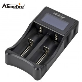 AloneFire SC-03 Smart Battery Charger Li-ion Ni-MH Ni-Cd 26650 18650 14500 16340 18350 17500 AAA AA Battery Charger