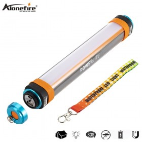 AloneFire T30 LED Camping Flashlight Mosquito Repellent USB Rechargeable Tent Lantern Magnetic Emergency Camp