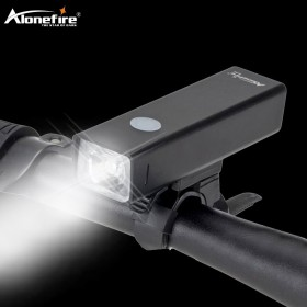 Alonefire BL03 5000Lum T6 USB Rechargeable Built-In Bicycle Light Waterproof flashlight Headlight Bike Accessories