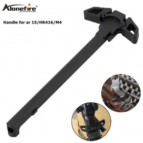Alonefire M470 Dual Use Turning Charging Handle Tactical Butterfly Pulling Handle for AR-15 Handle Kid Toy Guns Accessories