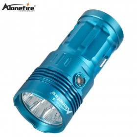 Alonefire H020 High Power 30W 50000 Lumens LED Flashlight Torch 8xL2 Linterna Lamp Portable Searchlight