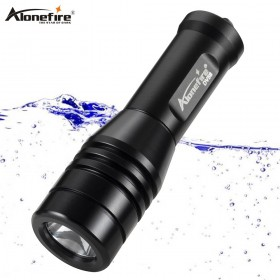Alonefire DV58 Dive LED Flashlight Diving Light L2 Super Bright Underwater Waterproof Portable Lantern dive Lamp Torch