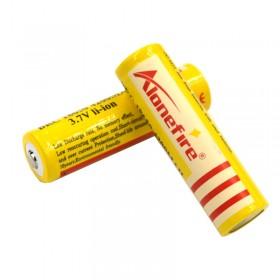 AloneFire 2pc High Quality 3.7V 4200mAh 18650 Li-ion ...