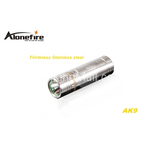 alonefire ak9 cree xpe r2 led 5 mode stainless steel